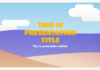 Tatami Free Template for Google Slides 3